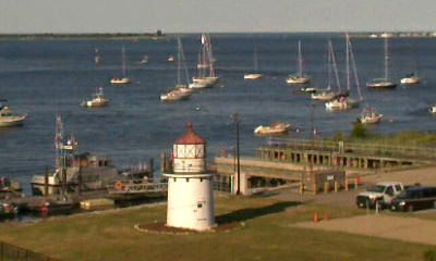 Newburyport, MA Boat Traffic Live Cam - Snapshot