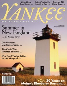 Yankee Magazine Cover - July/August 2009
